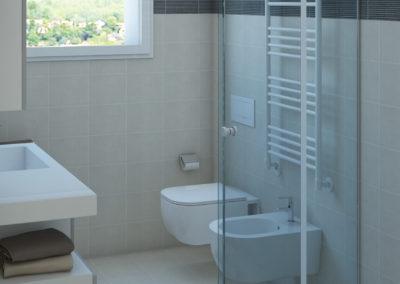 Appartamento O - bagno